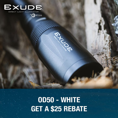 Exude OD50 Illuminator White Rebate Offer
